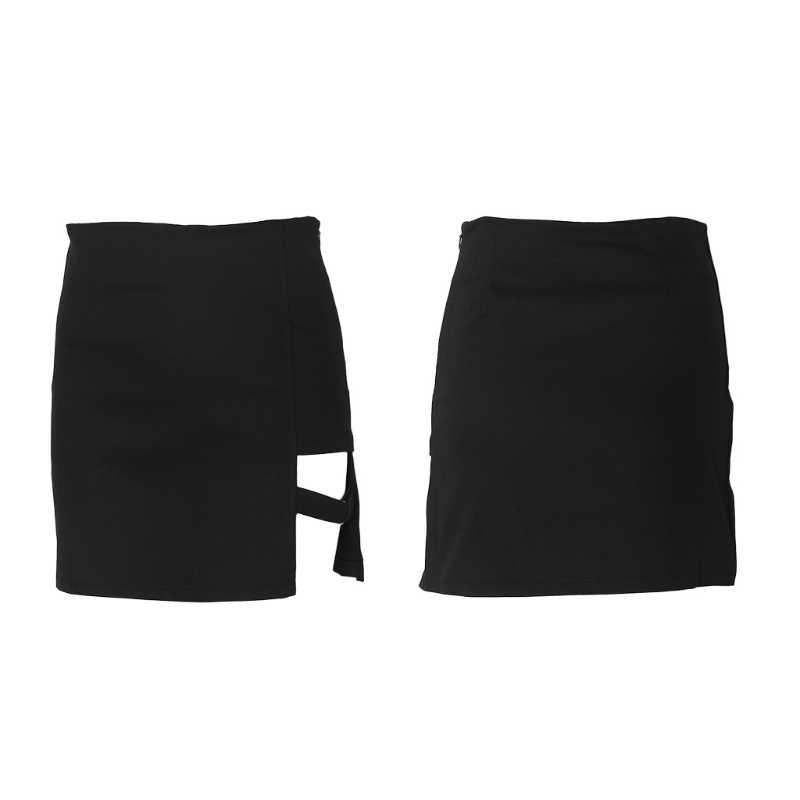 66d8dc04d2 Detail Feedback Questions about Korean Style Black Package Hip Skirts Gap  Irregular Hem Pencil Micro Mini Skirt on Aliexpress.com | alibaba group