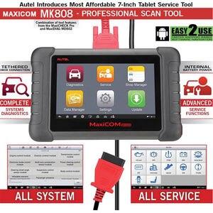 Image 4 - Autel Maxicom MK808 OBD2 Máy Quét Dụng Cụ Quét Chẩn Đoán Tất Cả Hệ Thống Chẩn Đoán Phục Vụ Chức Năng Mã MD802 + Maxicheck Pro