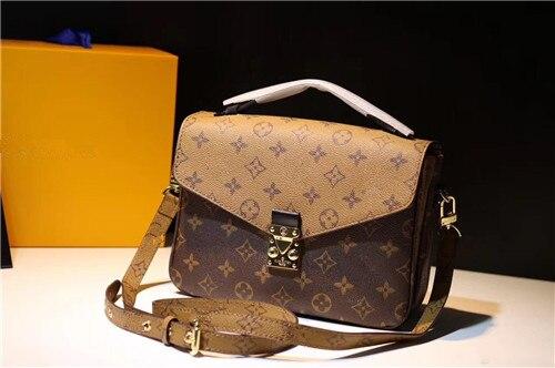 100% Echtem Leder Luxus Handtaschen Frauen Taschen Designer Umhängetaschen Für Frauen Berühmte Marke Runway