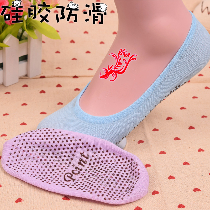summer comfortable cotton girl women's   socks   ankle low female invisible color girl boy hosier 1pair=2pcs xws52