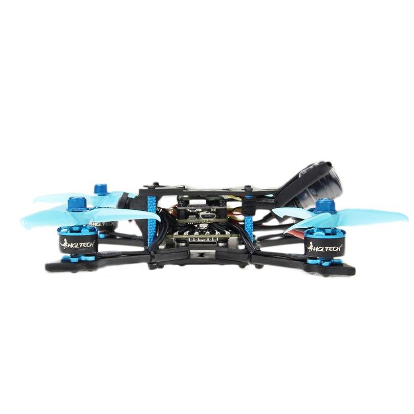 HGLRC Arrow3 152mm de 3 pulgadas F4 OSD 4S/6 S Mini FPV carreras Dron PNP BNF con 45A CES Caddx Ratel 1200TVL Cámara RC Quadcopter - 3