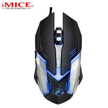 Professional USB Wired Gaming Mouse LED Optical Computer Mouse Mice 6 Buttons 3200DPI Mouse Gamer For LOL Dota 2 CSGO