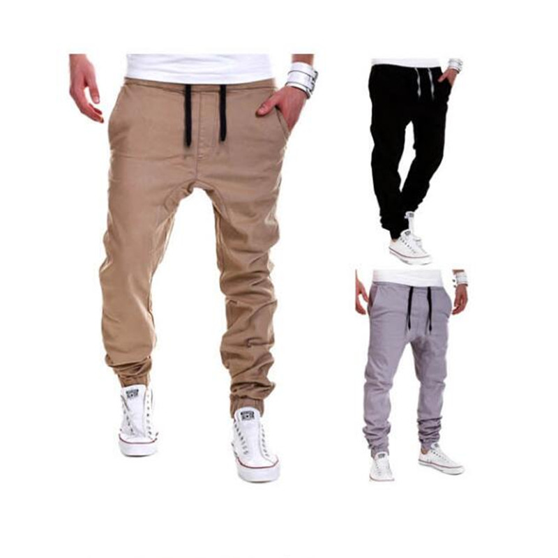 1Pcs New Trousers 2017 Pop Cotton Sweatpants Slacks Dance Casual Hot Jogge Sportwear Fashion ...