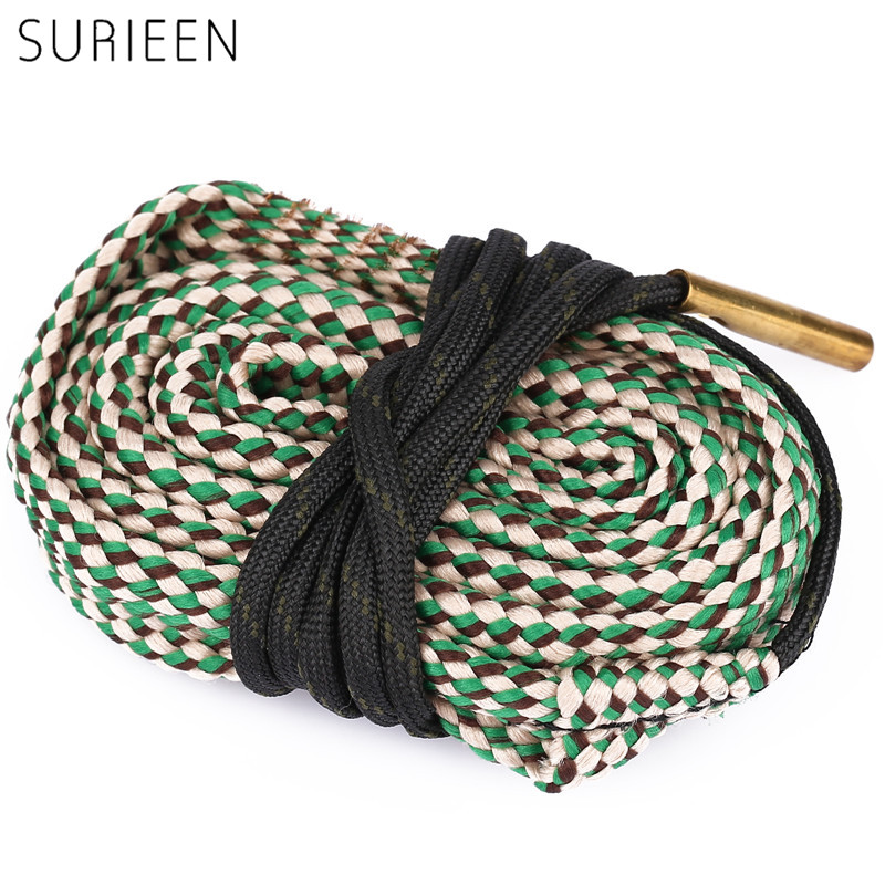 SURIEEN Hunting Gun Accessories Boresnake Gun Cleaning for 7.62mm .308 30-30 30-06 .300 .303 .30 cal Pistol/ Rifle Cleaner Rope