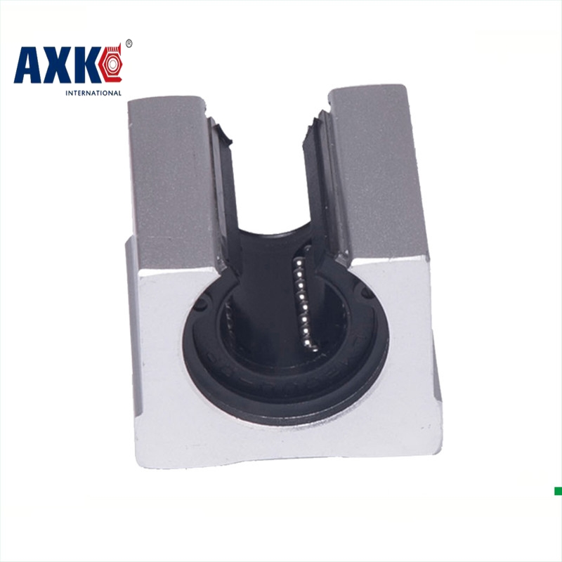 2018 Hot Sale Special Offer AXK Linear Rail Axk 4 Pcs Sbr20uu Sbr20 20mm Linear Ball Bearing Block Cnc Router Parts 2pcs sbr20 linear guide 20mm linear rails 4 pcs sbr20uu ball bearing block cnc router