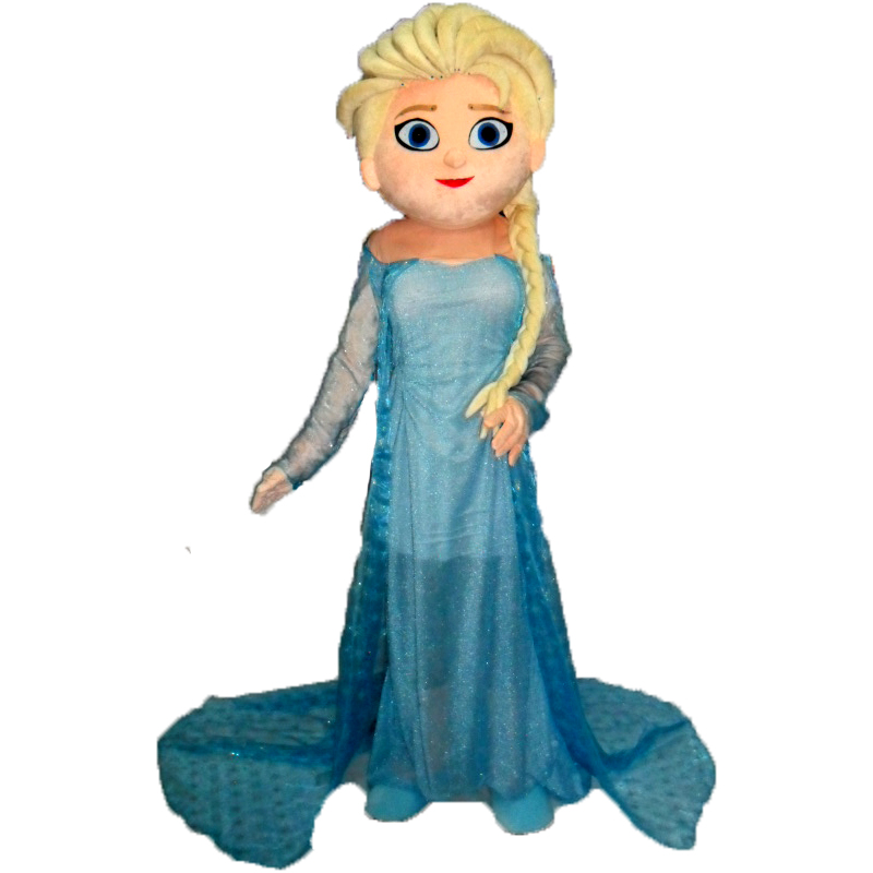0549f2723c hot Princess Pfreeze Elsa mascot costume sale Unisex worsted cosplay  costume-in Men s Costumes from Novelty   Special Use on Aliexpress.com
