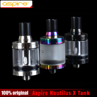 100% Original Aspire Nautilus X 2 ml Có Thể Điều Chỉnh Trên Luồng Không Khí New U-Atomizer với Công Nghệ Coil Hệ Thống Nautilus X