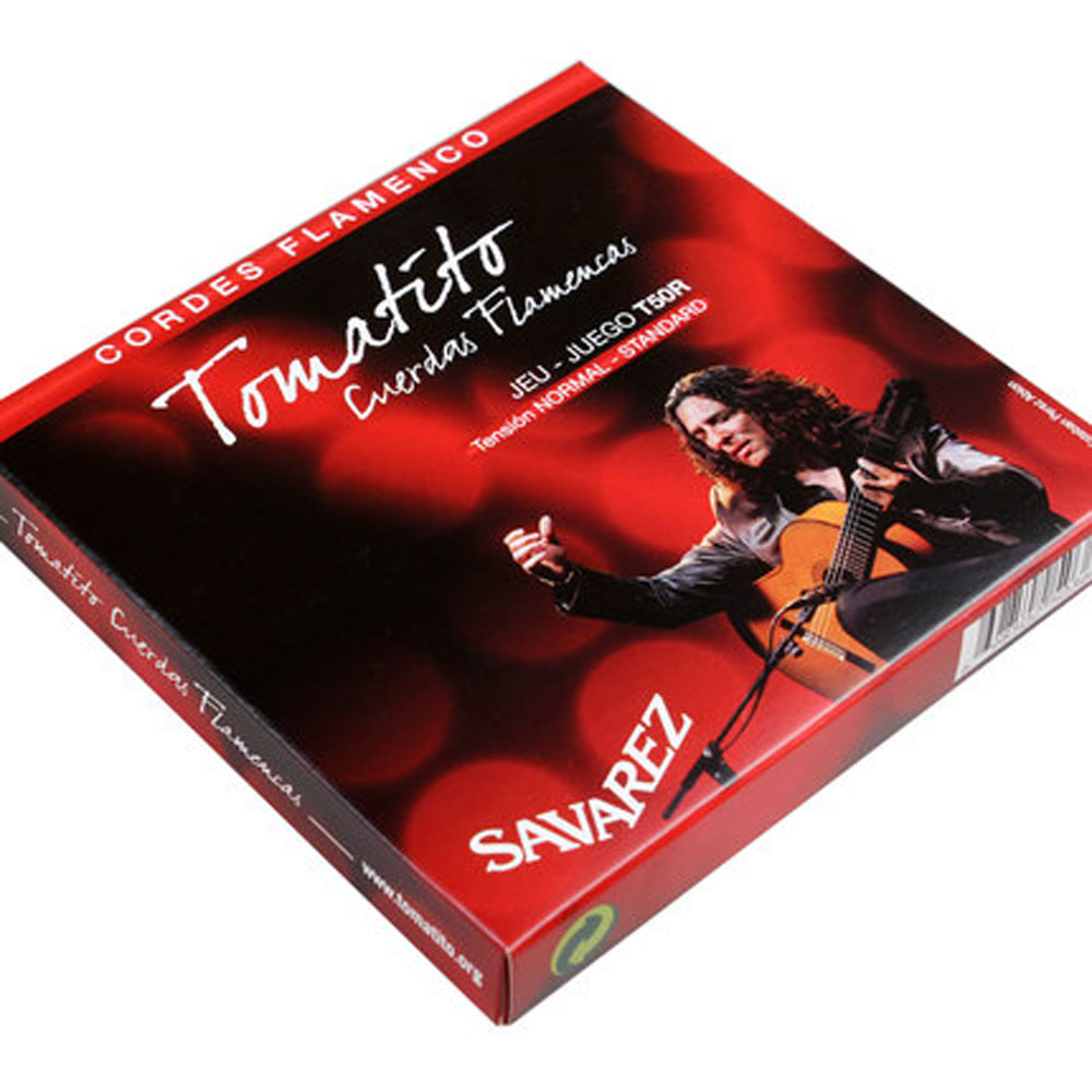 French Original SAVAREZ T50J High Tension Nylon Classical Guitar Strings Performance level Flamenco Guitar Strings For Guitarist olympia brand classical guitar string 1 set 6 strings high quality clear nylon strings normal or hard tension original