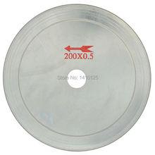"8"" inch Super-Thin Arbor Hole 25 mm Rim 0.65 Diamond Saw Blades Lapidary Cutting Disc Saws Jewelry Tools for Stone Tool Gemstone"
