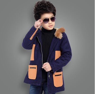 New 2016 Children Wool Coats Outerwear Spring Autumn Boys Jackets Thick Woolen Kids Coat Winter Clothes For Boys bill mccarty learning red hat enterprise linux and fedora 2 cd rom