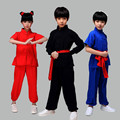 Новый Дизайн Кунг-Фу Тай-Чи Одежды Производительности Костюм Равномерное Ушу Экипировка Одежда для Мальчик Девочка Дети Ребенок
