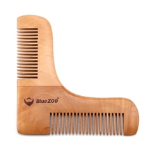 Men Double-side Beard Shaping Styling Template Beard Shaving Tools Hair Beard Trim Template Combs Hair Care & Styling Comb