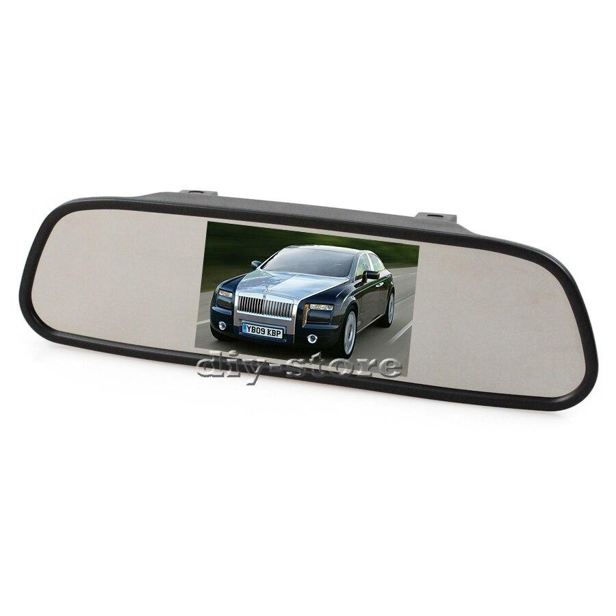 Monitor Rear View Mirror