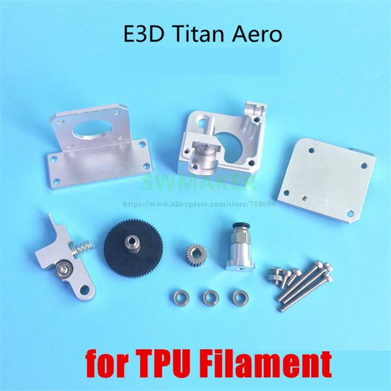 Titan Aero Extrusora V6 dissipador de calor