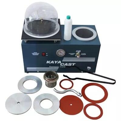 Nouvelle machine de coulée sous vide Kaya gilet machine de coulée Alibaba fournisseur de bijoux, Mini machine de moulage de bijoux