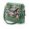 2016 Новый Урожай Характер дизайн Китайский стиль сумки вышивка этническое плеча сумки женщины сумка bolso mujer