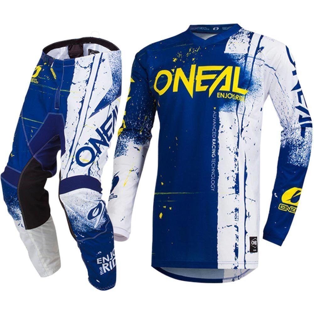 ONeal Element Jersey MX Cross DH RACEWEAR Wei/ß