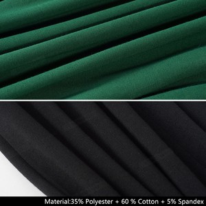 Image 5 - נחמד לנצח אלגנטי בציר טהור צבע שווי שרוול vestidos המפלגה עסקי Bodycon משרד עבודת נשים נשי שמלת B503