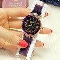 Женские наручные часы  японские часы  движение  Звездный дизайн для женщин  водонепроницаемые  Круглый механизм  Звездный дизайн для женщин