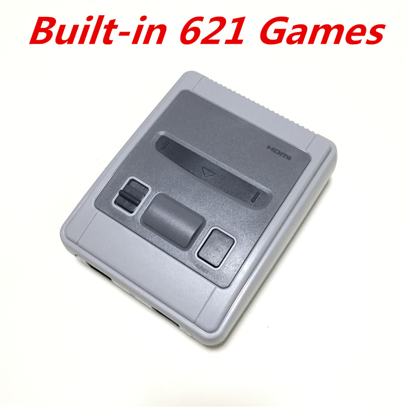 New Super Mini HDMI Family TV Video Game Console Retro Classic HD Output TV Handheld Game Player Built-in 621 Games 8Bit game console mini 4k hdmi output tv handheld 8 bits video game console built in 621 retro classic games for tv pal ntsc us plug