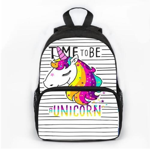 Unicorn Printed Kids School Bag Child Book Bags For Girls Boys Cool Schoolbag Children Mochila Escolar Infantil