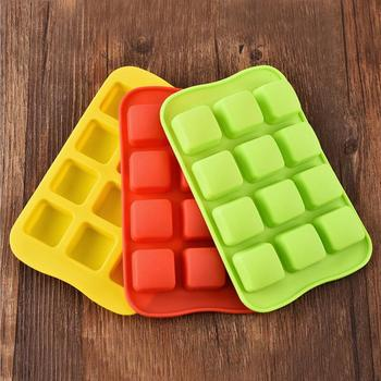 12 Grid Silicone Chocolate Jelly Mold Tray 1