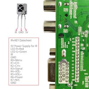 Image 3 - QT526C V1.3 Support Digital Signal DVB S2/T2/C ATV Universal LCD Driver Board Dual USB IN Russian T.S512.69 With 1ch 6bit 40pins