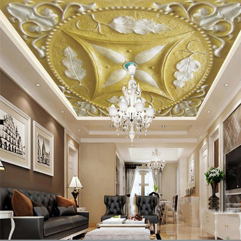 Beibehang Custom Wallpaper 3D Photo Mural Luxury Royal
