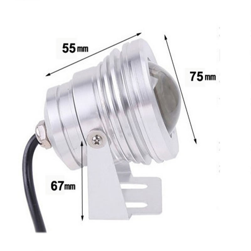 Image 4 - 12V 10W Underwater Light Marine Boat Yacht Fishing Lamp LED Flood Light Blue White-in Marine Hardware from Automobiles & Motorcycles