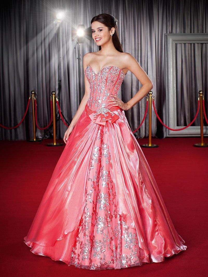 Baratos vestidos quinceañera 2015 vestido de fiesta novia cristal de ...