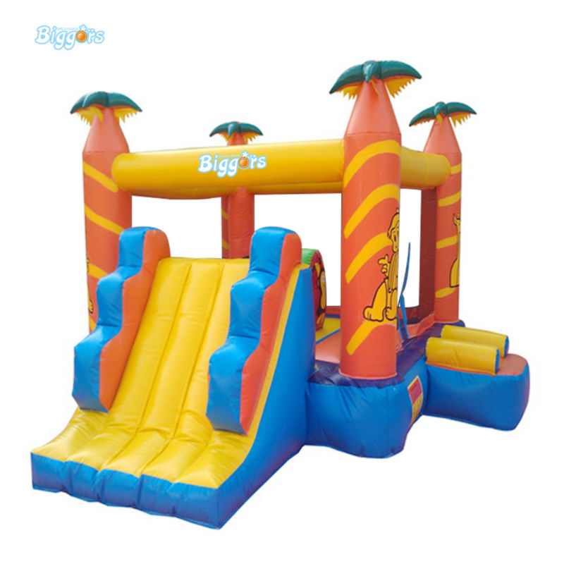 Inflatable Biggors Small Size Inflatable Jumping Trampoline For Sale цена