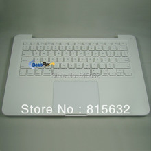 90% NEW FOR Macbook Unibody A1342 US Top Case & Keyboard & Trackpad Case Free shipping