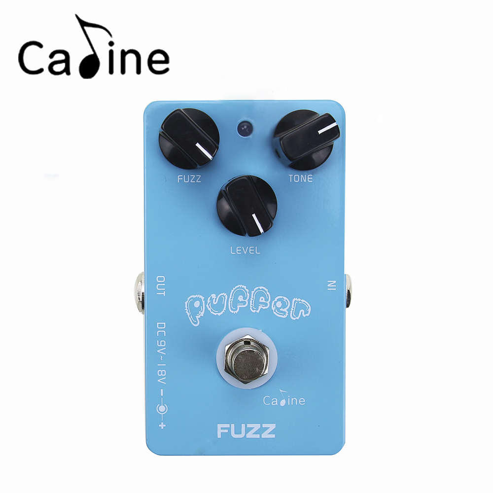 Aluminum Alloy Fuzz Puffer Guitar Effect Pedal Housing Ture Bypass With High Quality Jacks and Foot Switch Caline CP-11 new arrival guitar effects booster guitar effect pedal aluminum alloy housing ture bypass aroma abr 1