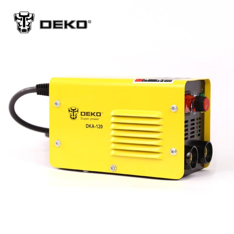 DEKO MMA-120 800W 120A 21S IP AC Arc Electric Welding Machine MMA Welder шина cordiant road runner 195 65 r15 91h