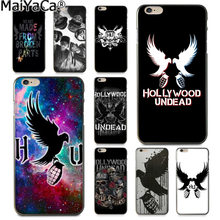 MaiYaCa hollywood undead Lüks Kauçuk telefon kılıfı kapak Apple iphone 11 pro 8 7 66S Artı X 5 5S SE XS XR XS MAX Kapak(China)