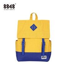 cb065e9470b5a 8848 Vintage Sırt Çantası Kadın Kolej keten sırt çantası Su Geçirmez  Schoolbag Laptop Sırt Çantaları Erkekler