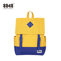 8848 Vintage Bagpack Women College Canvas Backpack Waterproof Schoolbag Laptop Backpacks for Men Back Pack Mochila 173 002 033