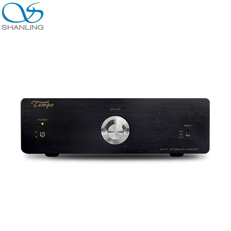 Tüketici Elektroniği'ten Kulaklık Amplifikatörü'de SHANLING Tempo eA1A giriş seviyesi HIFI Amplifikatör AMP Tayvan Dr Choi kişisel mikser SANKEN C4467/A1694 güç transistörleri title=