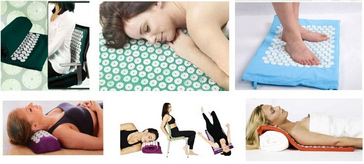 Massager-appro-67-42cm-Massage-cushion-Acupressure-Mat-Relieve-Stress-Pain-Acupuncture-Spike-Yoga-Mat-with
