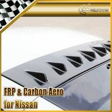 ЭПР Стайлинга Автомобилей Углеродного Волокна Заднего Стекла Спойлер Вихревой Генератор Подходит Для Nissan Z33 350Z Автомобильные Аксессуары