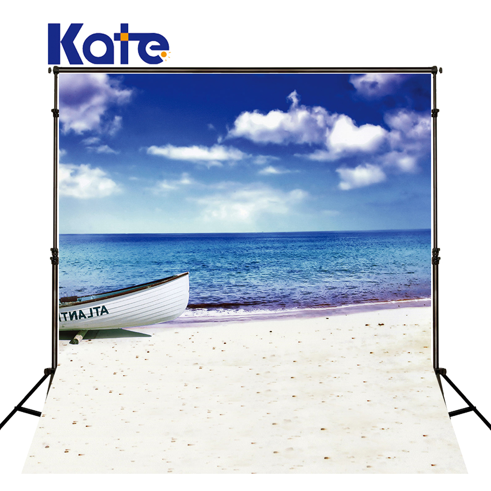 KATE Photo Background Summer Background Sea Backdrop Beach Themed Backdrop Blue and White Wedding Backdrop Children Background kate photo background scenery