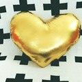 2017 Crianças Almofada Travesseiro Coração PU Travesseiro Almofada de Volta Almofada Do Sofá Cor de Rosa Decoração De Pelúcia Travesseiro de Viagem DF263