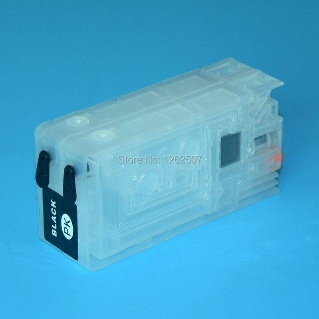 Sjic22p C3500 T3510 Refillable Ink Cartridges For Epson Colorwork TM C3510 C3520 Color Lables