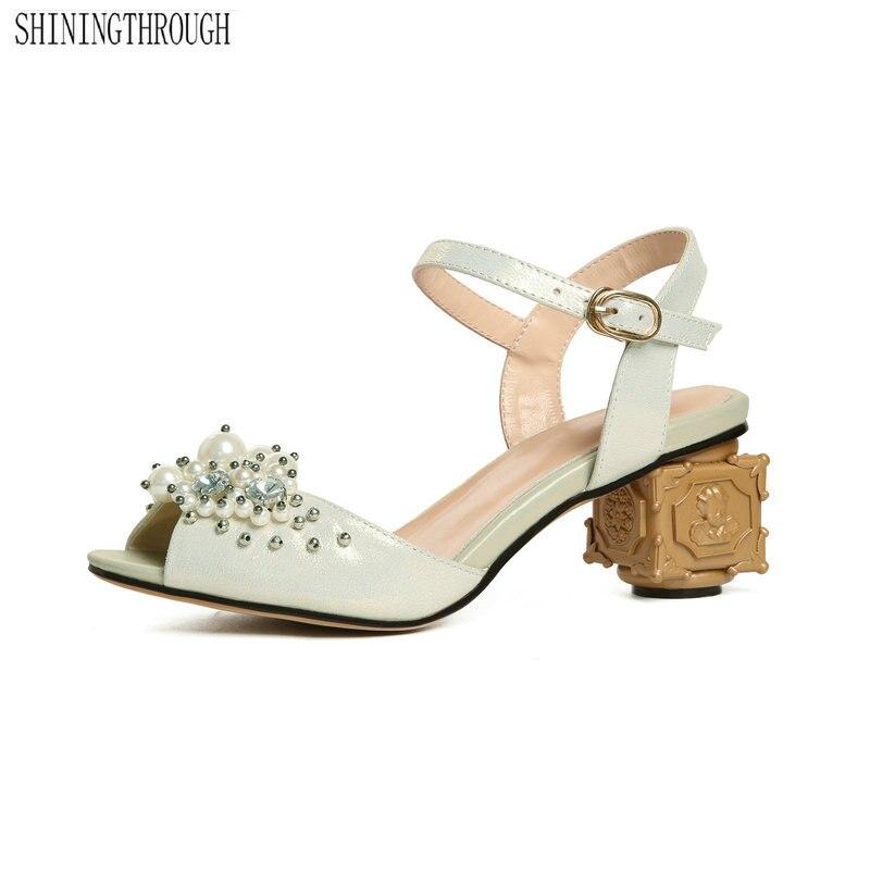 f8a33157a 42 branco Festa 6 Salto Tamanho Grande Moda Sapatos Chegam Cm Alto Da  Sandálias De 43 Couro Vermelho Novas Mulher Contratada Genuíno vnmwON80
