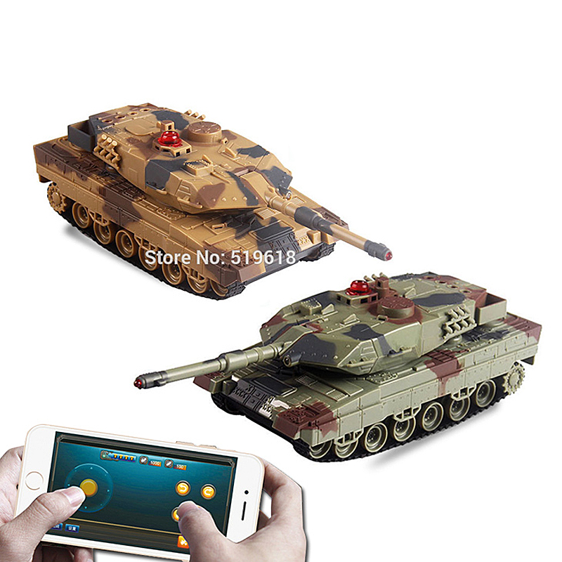 ФОТО KAINISI Big discount! Anytime anywhere can play height simulation tank toy phone control with two color optional voice