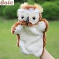 Ventrílocuo búho Juguete de Peluche Muñecas de Artesanía Para Niños Juegos Educativos Para Bebes Muñecas juguetes Divertidos Pájaros Marionetas
