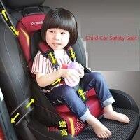 Sedia portatile del bambino sit regolabile bambino seggiolino auto Bambino Seggiolino Auto Seggiolino di Sicurezza Per Bambini infantili booster traspirante pieghevole sacchetto della mummia