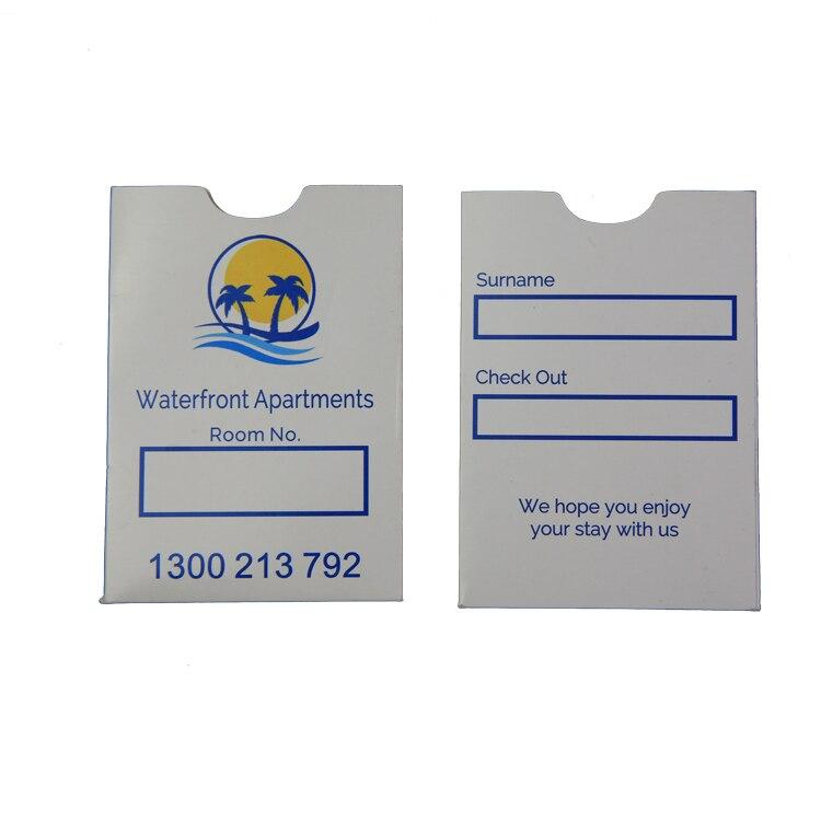 Zuoluo Customer Hotel Room Card Holder ,mini Hotel Key Card Holder Paper  Envelopes