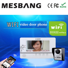 wifi doorbell door camera phone monitor  with androip IOS APP remotely control and inner monitor  free shipping
