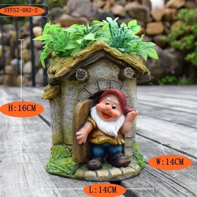 Kindergarten flower pot ornament (3)